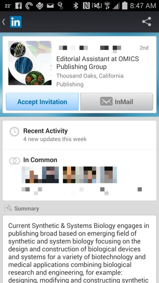 linkedin_spam_predatory_publisher
