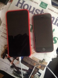 iPhone 5s vs 6+